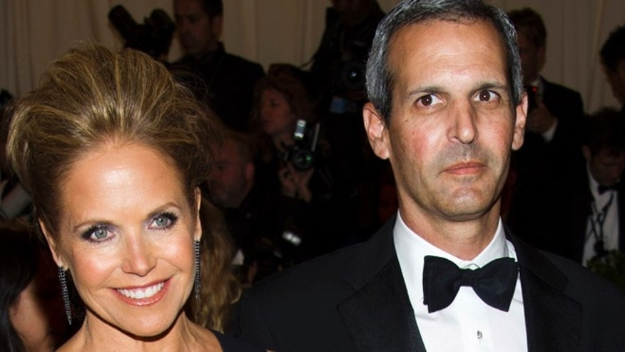 "May 6, 2013: In this file photo, TV personality Katie Couric, left, and John Molner attend The Metropolitan Museum of Art's Costume Institute benefit celebrating ""PUNK: Chaos to Couture"" in New York. Couric has married Molner in a small ceremony at her East Hampton home."