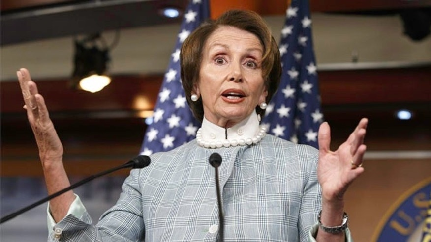 June 12, 2014: House Minority Leader Nancy Pelosi, D-Calif.