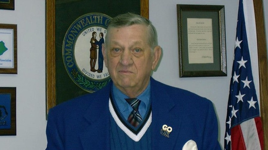 Charles Long, mayor of Booneville, Ky., is believed to be the country's oldest and longest-serving mayor. The 94-year-old World War II veteran has never faced opposition since taking office in 1959, when the federal minimum wage was just a dollar and Dwight Eisenhower occupied the White House. (Courtesy: Charles Long)