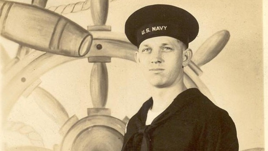 Long, seen here at the Great Lakes Naval Training Center in 1944, entered the Navy in his early 20s and served 19 months in South Pacific, mostly spent looking for mines. (Courtesy: Charles Long)