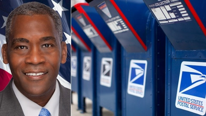 Marcus Lewis was fired from the Postal Service for running for Congress.