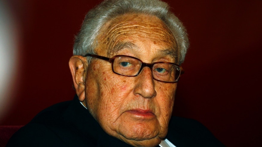 January 16, 2012: Former U.S. Secretary of State Henry Kissinger in Beijing.