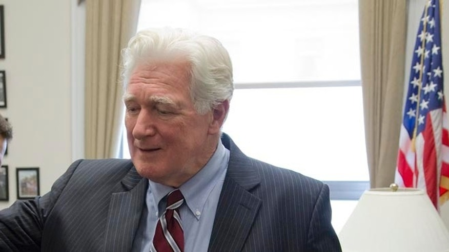 FILE: January 15, 2014: Rep. Jim Moran, D-Va., in his office on Capitol Hill in Washington, D.C.