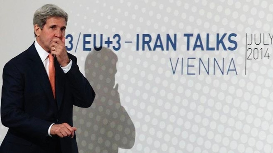 July 15, 2014: Secretary of State John Kerry in Vienna.