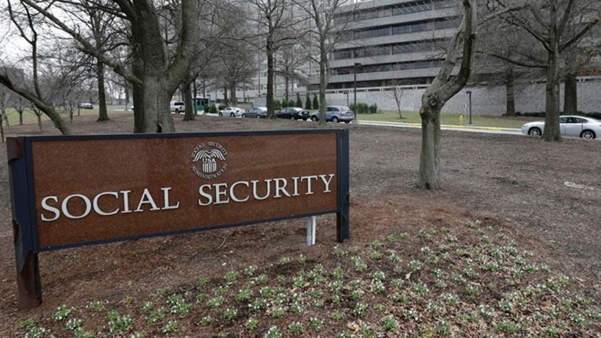 Jan. 11, 2013: The Social Security Administration's main campus is seen in Woodlawn, Md. (AP)