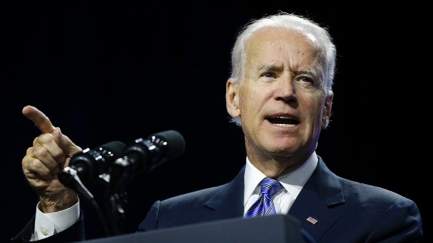 July 23, 2014: Vice President Biden speaks in Las Vegas.
