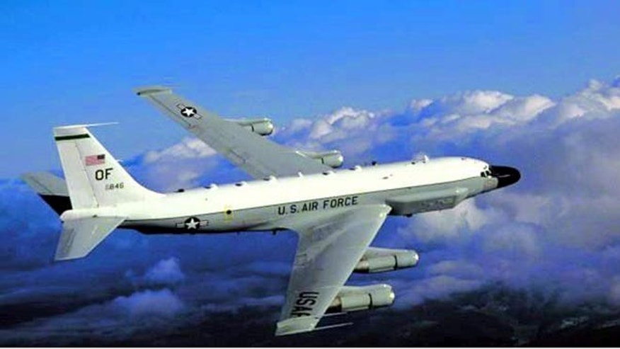FILE: Undated: A RC-135 U.S. reconnaissance aircraft/ Air Force handout.