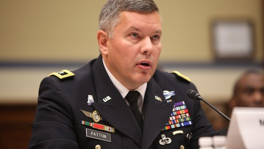 "In this photo Major General Gary S. Patton testifies before the Subcommittee on National Security hearing on the ""Dawood National Military Hospital, Afghanistan: What Happened and What Went Wrong? Part II"", Sept. 12, 2012."