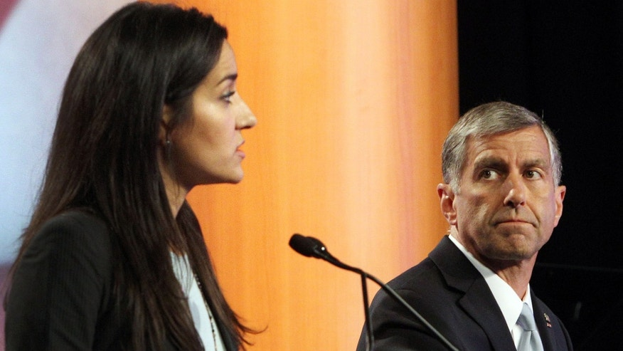 State Rep. Marilinda Garcia during a televised debate on Sept. 3, 2014 in Manchester, N.H.