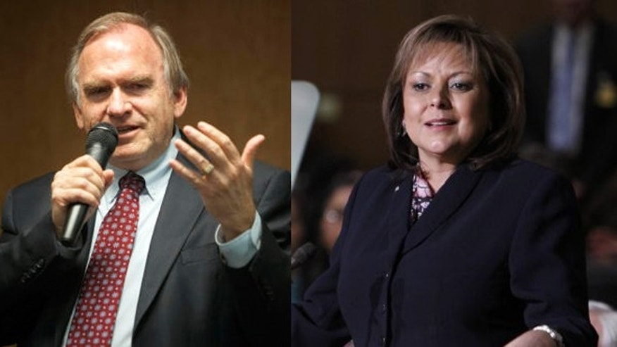 Left: Gary King; Right: Gov. Susana Martinez (Photos: AP)
