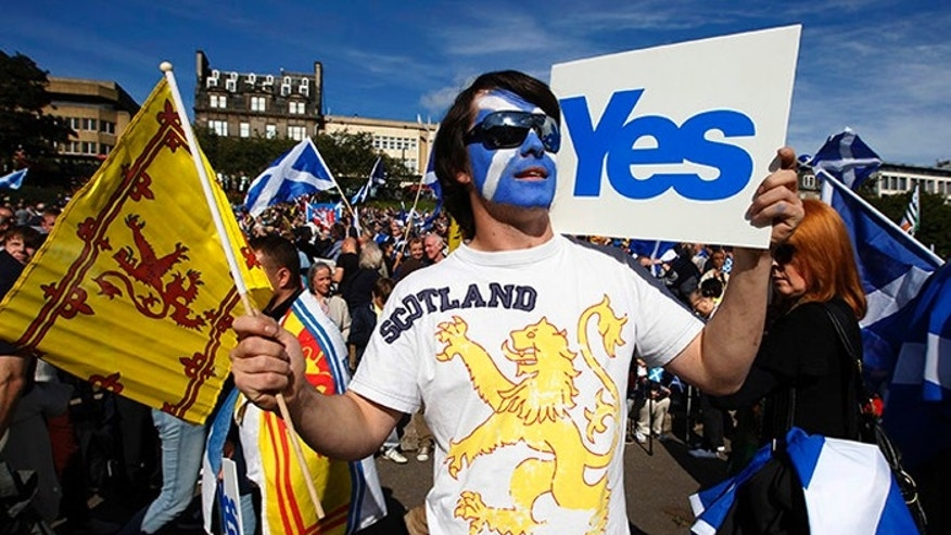 Independence for Scotland began as a long shot, but polls show it could happen in Thursday's referendum. (Reuters)