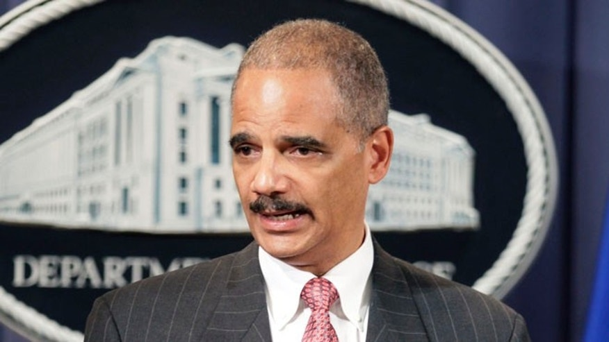 Attorney General Eric Holder is seen in this file photo.