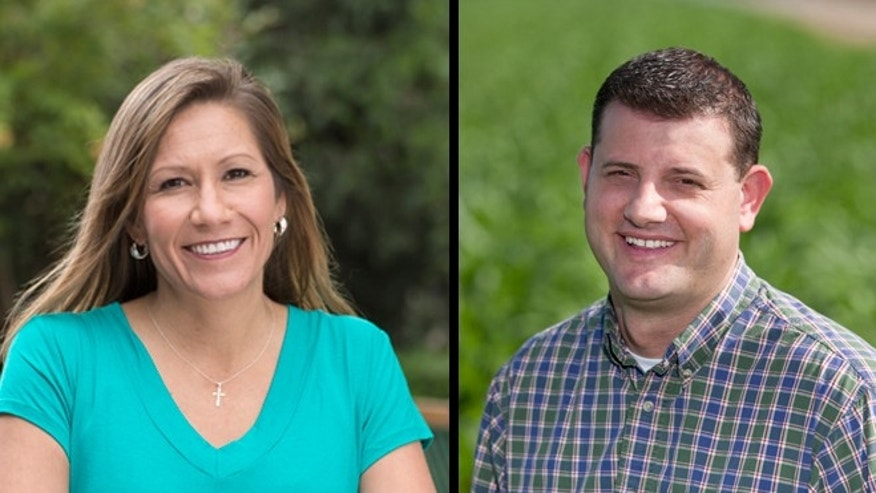 Amanda Renteria, left, and David Valadao. (Photos: Via campaign websites)