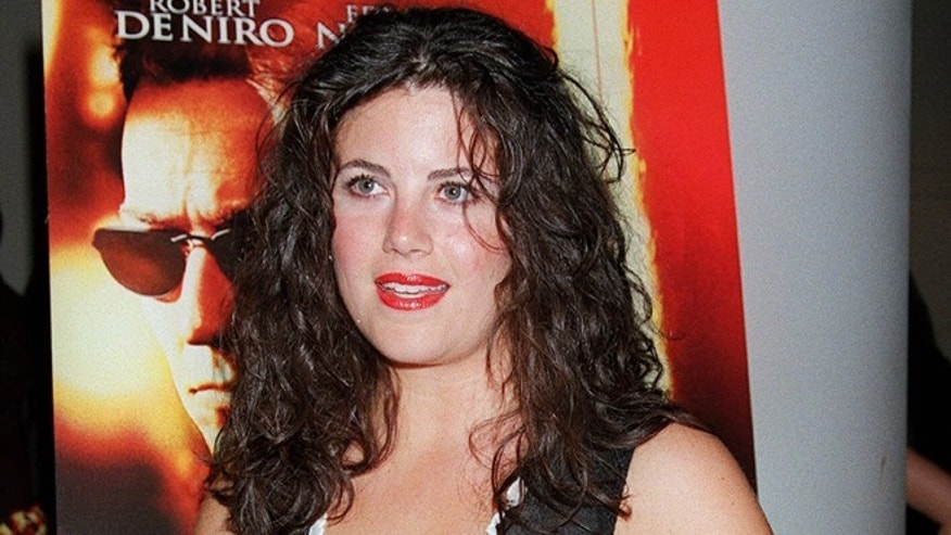 "FILE: Monica Lewinsky arrives for a special screening of ""The Score"" in New York."