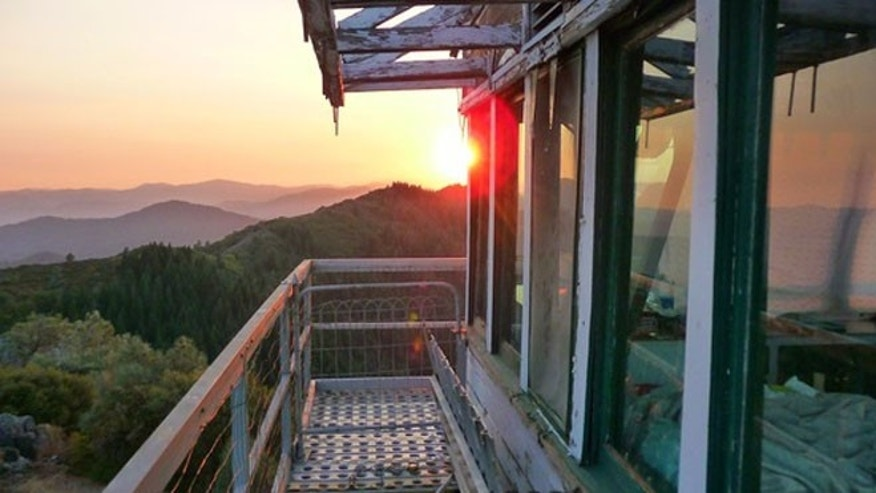 Sept. 23, 2013 photo of Hirz Mountain Lookout, Calif.