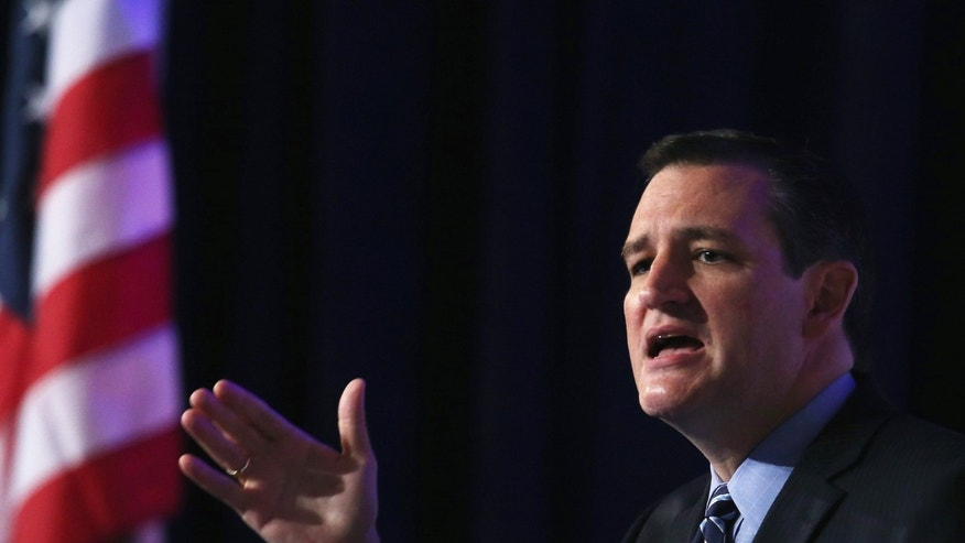 Sen. Ted Cruz at the 2014 Values Voter Summit September 26, 2014 in Washington, DC.
