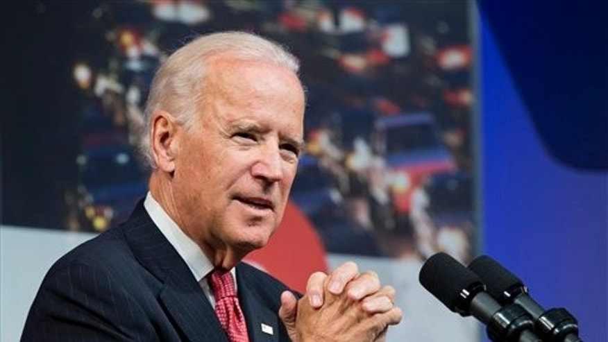 Oct. 21, 2014: Vice President Joe Biden speaks on the importance of investing in infrastructure.