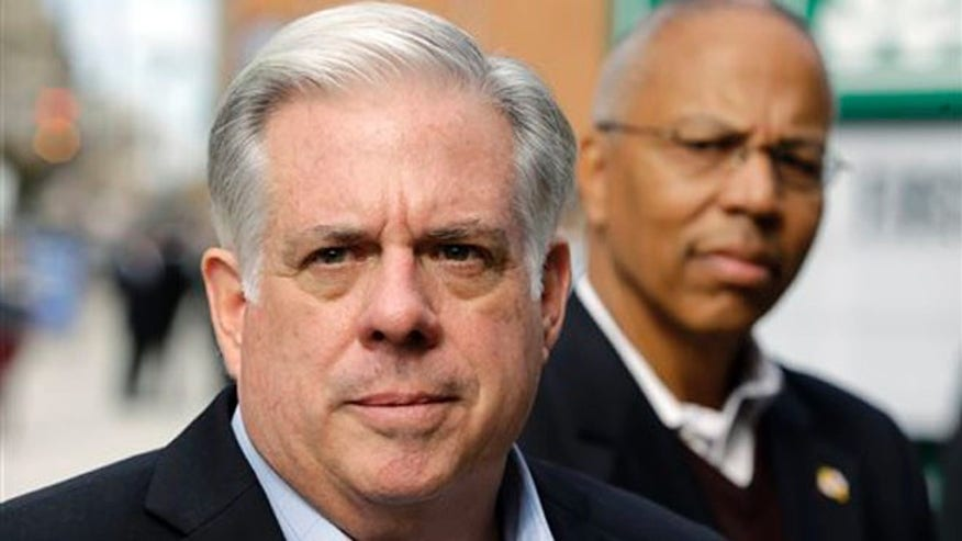 Maryland gubernatorial candidate Larry Hogan