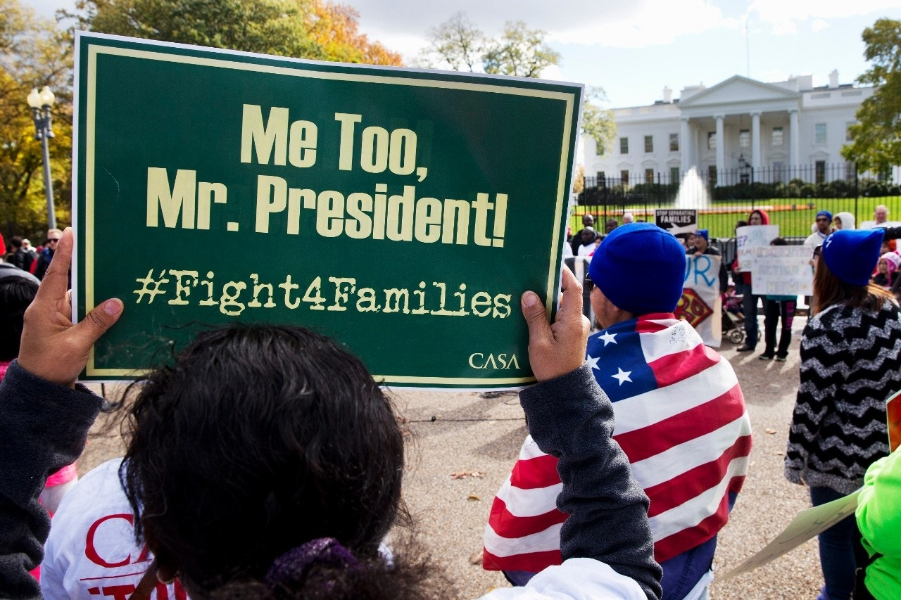 Obama stands behind decision to act on immigration despite GOP warnings