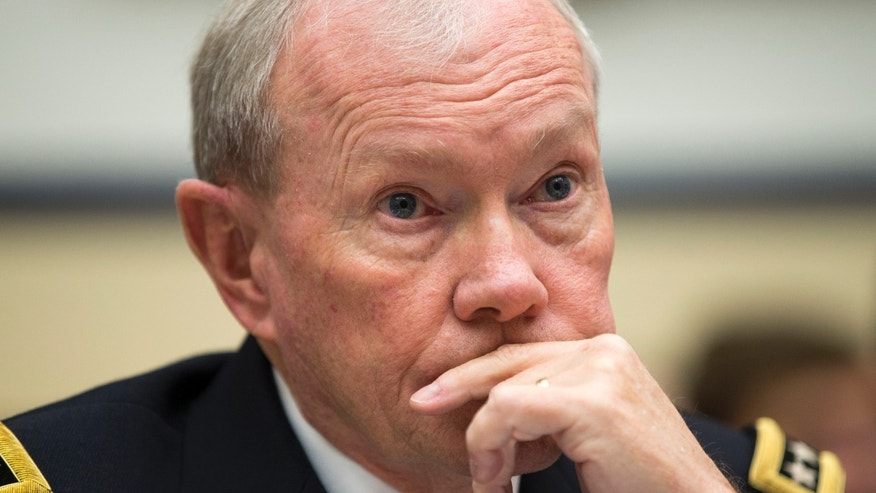 Nov. 13, 2014: Joint Chiefs Chairman Gen. Martin Dempsey listens on Capitol Hill in Washington