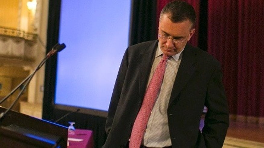Economist Jonathan Gruber speaks at a conference of the Workers Compensation Research Institute in Boston, Massachusetts, March 12, 2014. Dr. Gruber is a professor at MIT and the architect of the healthcare reform laws in Massachusetts and the American Affordable Care Act. REUTERS/Dominick Reuter  (UNITED STATES - Tags: POLITICS BUSINESS) - RTR3GTMP