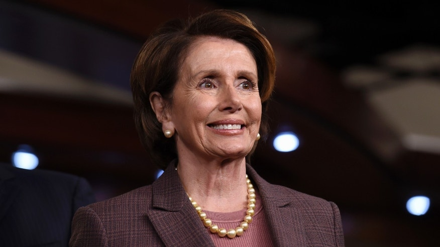 Nov. 18, 2014: House Minority Leader Nancy Pelosi of Calif. listens during a news conference on Capitol Hill in Washington to introduce the Democratic leadership team for the 114th Congress.