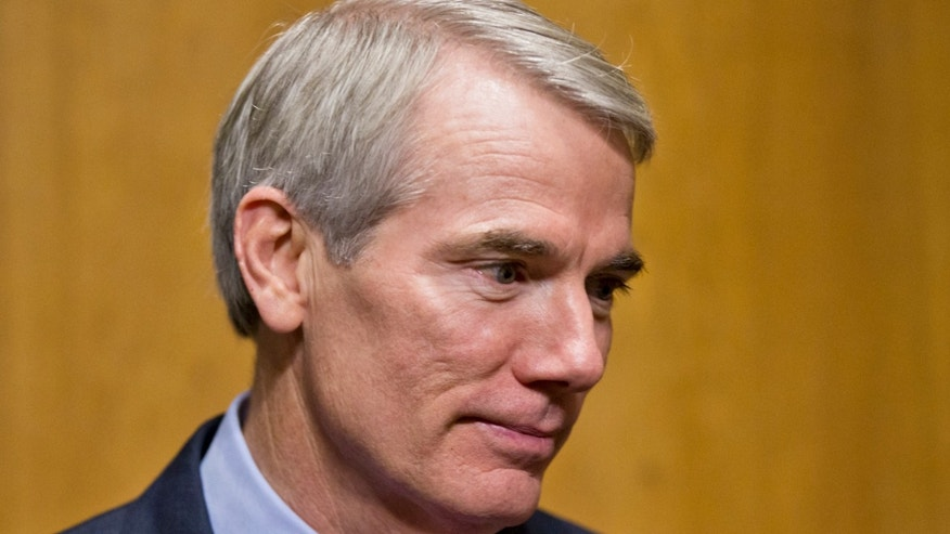 Nov. 6, 2013: Sen. Rob Portman, R-Ohio is seen on Capitol Hill in Washington.