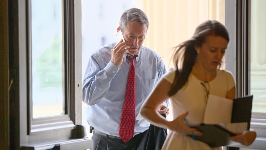 Dec. 4, 2014: Rep. Mark Sanford, R-S.C., arrives for votes on Capitol Hill in Washington