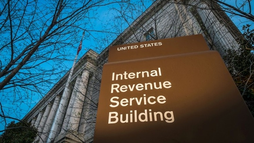 April 13, 2014: This file photo shows the headquarters of the Internal Revenue Service (IRS) in Washington. (AP)