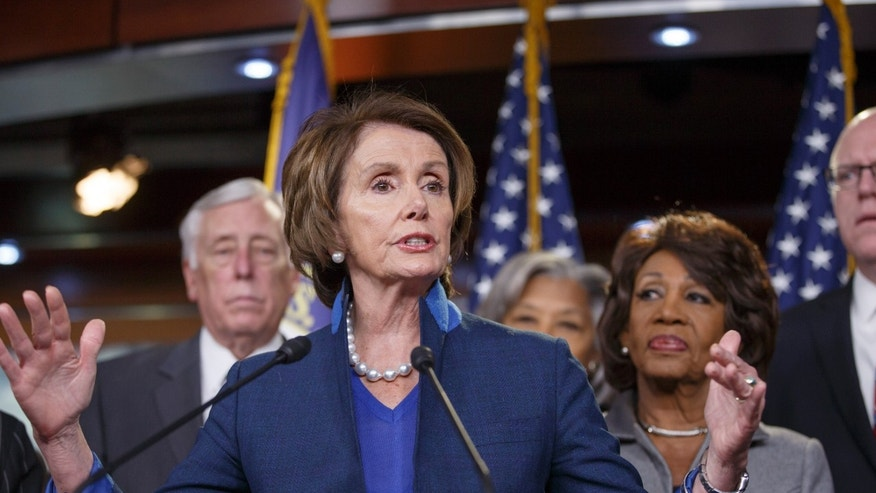 Dec. 4, 2014: House Minority Leader Nancy Pelosi of Calif. holds news conference on terrorism insurance bill.