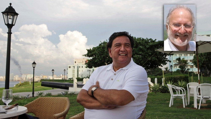 Former New Mexico Gov. Bill Richardson in Havana in 2011, working for the release of subcontractor Alan Gross.