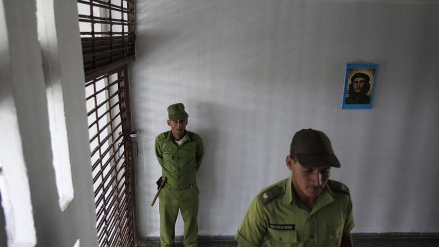 Three Cuban political prisoners were freed Wednesday, Jan. 7, 2015 and a leading human rights advocate said he believed their liberation was part of a U.S.-Cuban deal to release 53 dissidents. (AP Photo/Franklin Reyes, File)