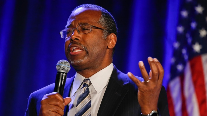 Jan. 15, 2015: Dr. Ben Carson addresses the Republican National Committee luncheon.