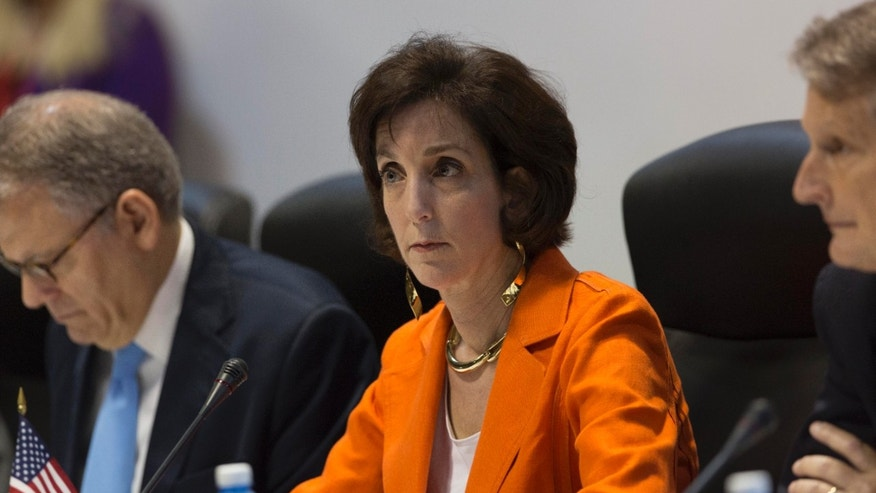 Assistant Secretary of State of the Bureau of Western Hemisphere Affairs Roberta S. Jacobson, on Jan. 22, 2015.
