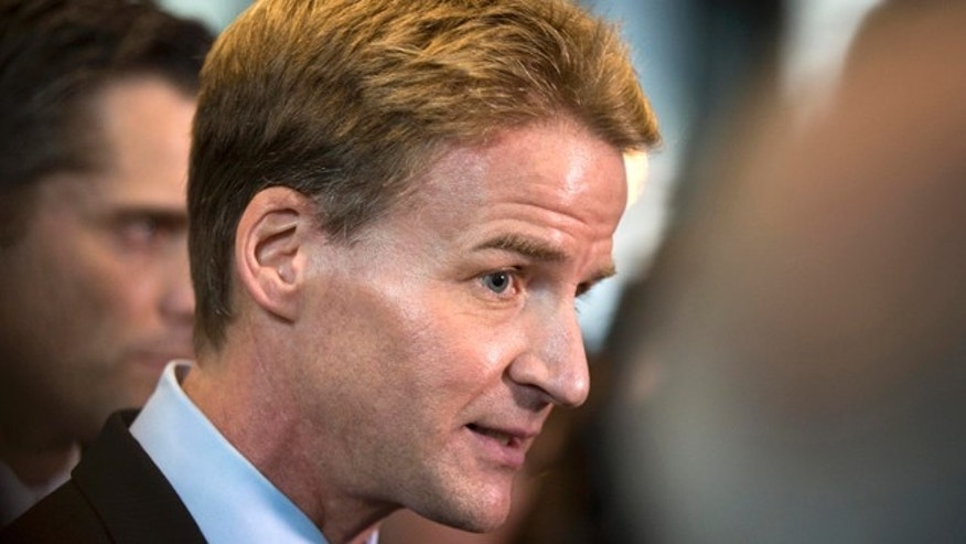 Jan. 14, 2014: U.S. Attorney Zachary Fardon speaks to reporters at the federal building  in Chicago. Prosecutors in Chicago have quietly dropped dozens of serious narcotics conspiracy charges stemming from stings involving fictional drug stash houses. (AP Photo/Andrew A. Nelles, File)