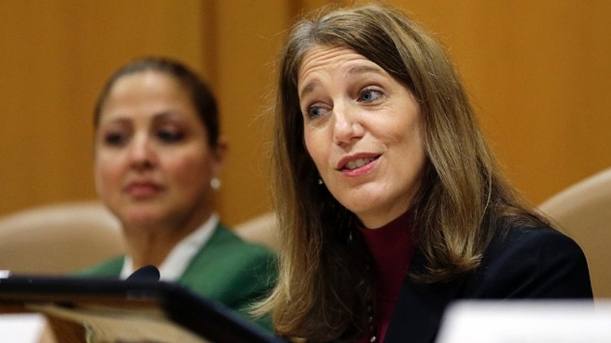 Nov. 17, 2014: Health and Human Services Secretary Sylvia Burwell.