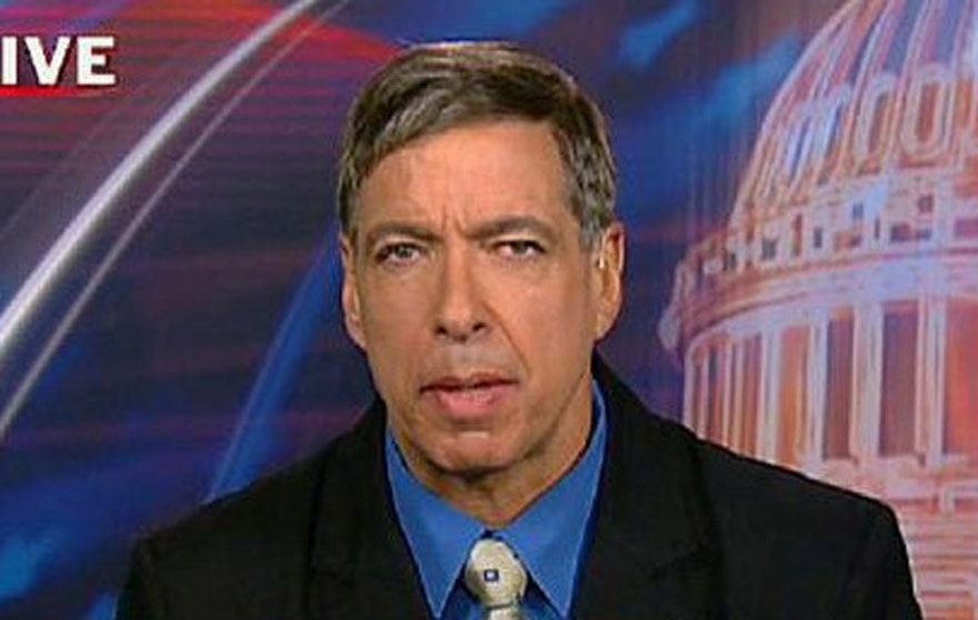 Former US Ambassador to Morocco Marc Ginsberg, shown here in an appearance on Fox News Channel, heads OneVoice, which has received $350,000 in grants from the US. (Fox News Channel)