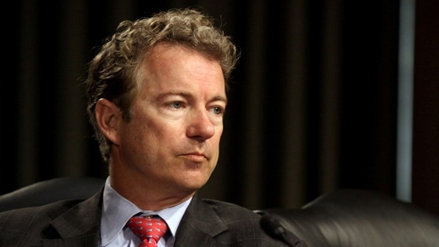 FILE: April 1, 2014: Sen. Rand Paul, R-Ky., on Capitol Hill in Washington, D.C.