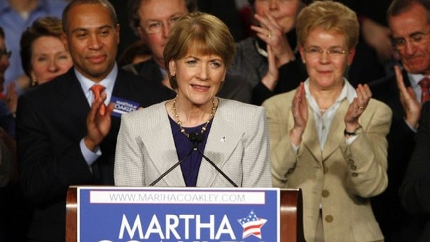 FILE: Martha Coakley concedes in the Massachusetts special election for U.S. Senate in Boston Jan. 19, 2010. (Reuters Photo)
