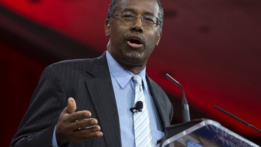 Feb. 26, 2015: Ben Carson speaks in National Harbor, Md.