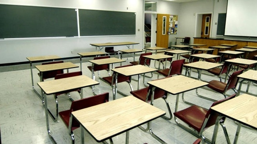 Much of Millsaps College is in transition such as this classroom photographed, Thursday, June 22, 2006, in Jackson, MIss., as they prepare to become the summer training camp for the New Orleans Saints. Classrooms such as this one in Sullivan-Harrell Hall will be equipped with projectors and tables with chairs instead of the student desks to accomodate the football players attending their specialization meetings. (AP Photo/Rogelio Solis)