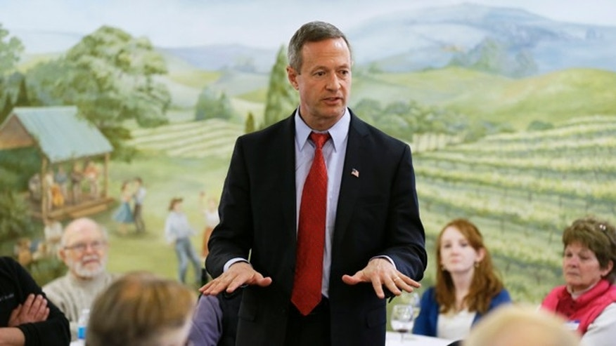 April 9, 2015: Former Maryland Gov. Martin O'Malley speaks in Indianola, Iowa.