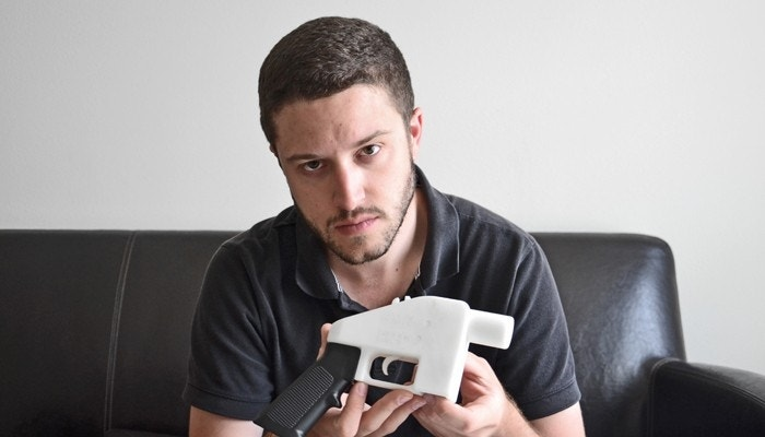 Designer of 3-D-printed gun challenges feds to Constitutional duel