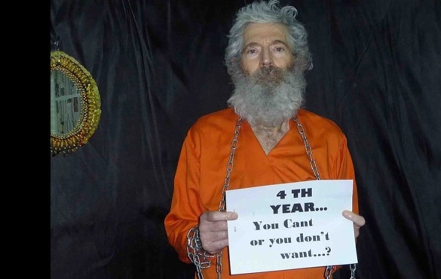 This undated handout photo of retired-FBI agent Robert Levinson was provided by his family.