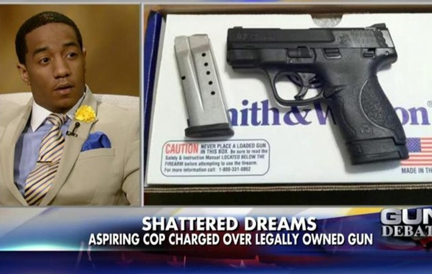 Steffon Josey-Davis' dream of becoming a police officer could be back on, after NJ Gov. Chris Christie pardoned him for a gun charge.