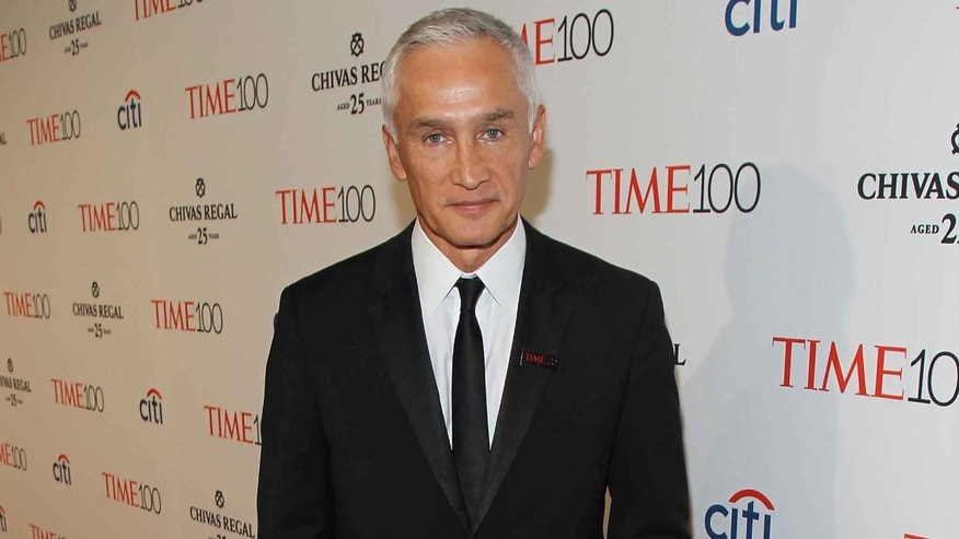Jorge Ramos at TIME's '100 Most Influential People In The World' gala on April 21, 2015 in New York City.