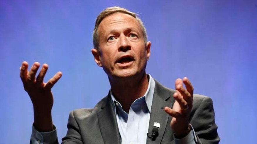 July 18, 2015: Democratic presidential candidate, former Maryland Gov. Martin O'Malley speaks at a Netroots Nation town hall meeting.