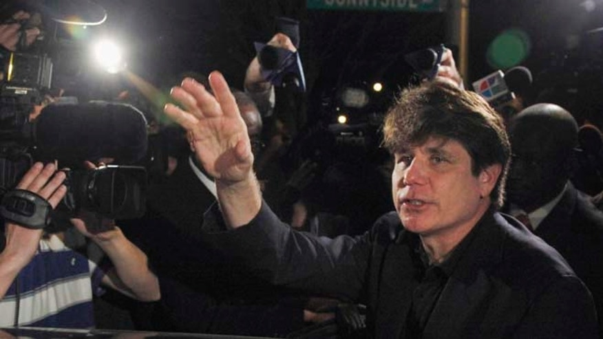 March 15, 2012: Former Illinois Gov. Rod Blagojevich departs his Chicago home for Littleton, Colo., to begin his 14-year prison sentence on corruption charges.