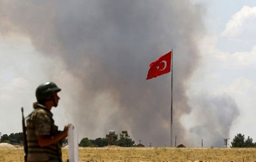 US sources believe Turkey could be using the cover of cooperation to settle its own score with Kurds. (Reuters)