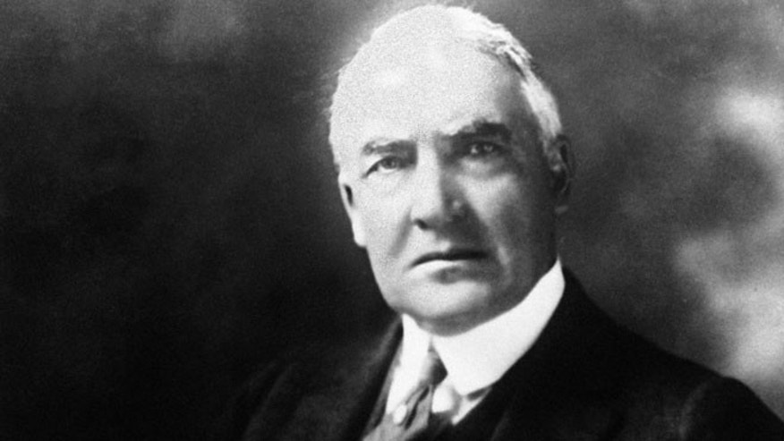 This file photo shows former President Warren G. Harding. (AP)
